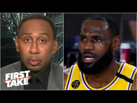 Stephen A. reacts to the Lakers losing to the Raptors | First Take
