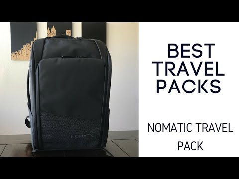 Best Travel Packs: Nomatic Travel Pack (Backpack) Review