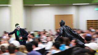 BATMAN CLASS PRANK UNCUT (The University of Texas)