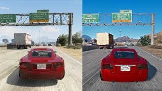 ►GTA 5 - Xbox 360 vs Gaming PC Real-Life Graphics! Side by Side Mission Comparison [4k 60FPS]