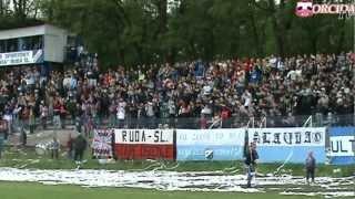 preview picture of video 'Slavia Ruda Śląska - Górnik Zabrze (12.05.2012)'