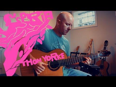 Thom Yorke: Suspirium for classical guitar + TAB