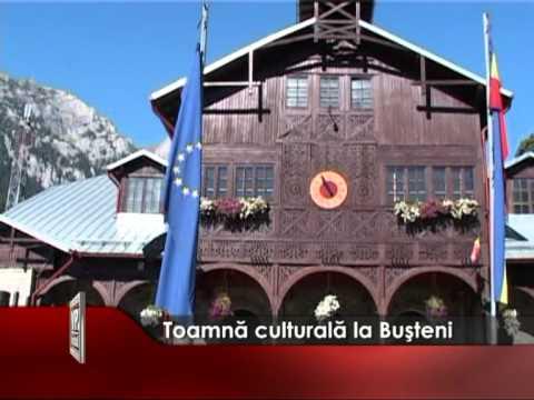 Toamnă culturală la Buşteni