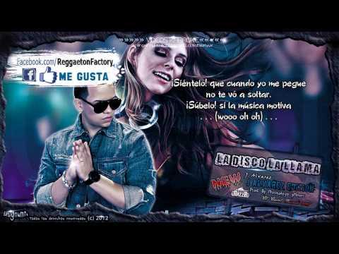 """J. Alvarez - """"La Disco La Llama"""" con Letra ★New Reggaeton 2012★"""