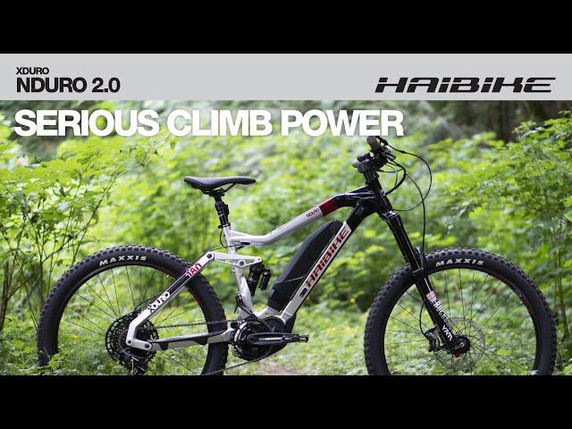Видео Электровелосипед Haibike XDURO Nduro 2.0 500Wh silver/black/red