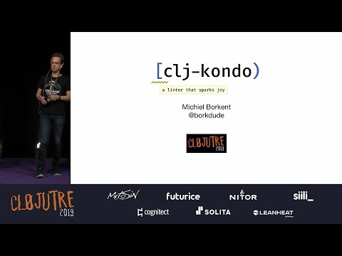 Clj-kondo at ClojuTRE 2019