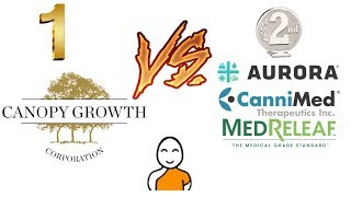 Aurora vs Canopy Growth! Best MJ stocks on the stock market!