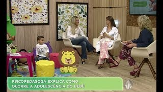 Manhã leve: Larissa Fonseca fala sobre Adolescência dos bebês e TOD