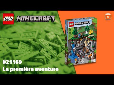Vidéo LEGO Minecraft 21169 : La première aventure