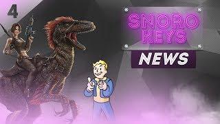 [SNOROKEYS NEWS]: ИГРОВЫЕ НОВОСТИ ОТ SNOROKEYS #4 | CyberPank2077/ARK Mobile/Fallout76/CuisineRoyale