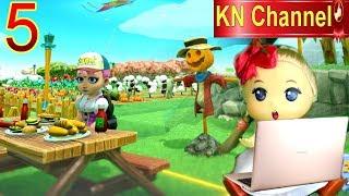 Trò chơi KN Channel FARM TOGETHER tập 5   LÀM CON BÙ NHÌN TRONG NÔNG TRẠI BÉ NA