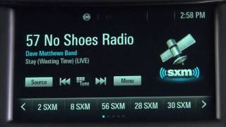 SiriusXM Basics: How to Listen with the Chevrolet MyLink Entry Radio
