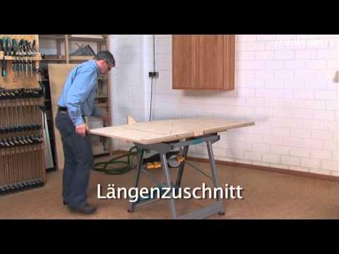 Möbelbau: So kriegen Sie auch große Platten klein