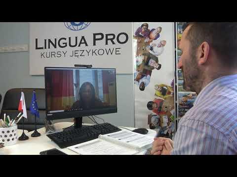 Kadr z filmu na youtube - Najprawdziwsza lekcja języka niemieckiego 4_20 Skype