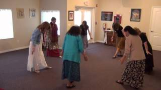 DAVIDIC DANCE PRACTICE:  ANI HA'ALEF V'HA'TAV by Lenny and Varda