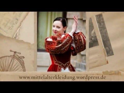 Mittelalterliche Kleidung selbst nähen – Mittelalter Gewandung selbst machen.Hochgotik Kleidung