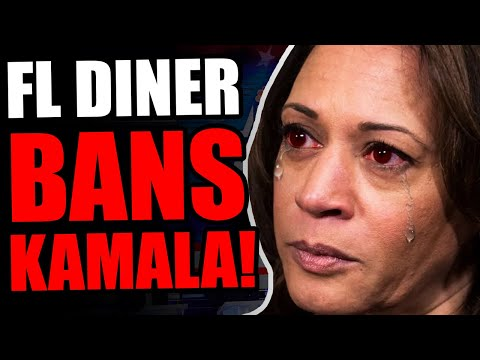 """Kamala HUMILIATED By Latino Restaurant Owner In Florida! Tells Her She Is """"NOT WELCOME"""" In FL Diner."""