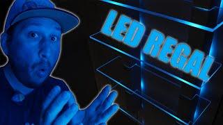 LED Wandregal perfekt für jeden Gaming Room