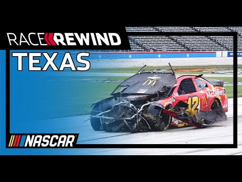 NASCAR AAAテキサス500(テキサス・モーター・スピードウェイ)のレースを15分にまとめたダイジェスト動画
