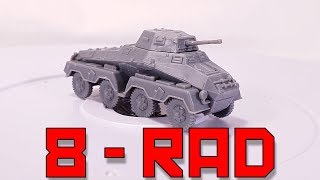 PSC SdKfz 231 8-rad Armoured Car