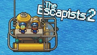 POLICE IMPERSONATORS STEAL SUBMARINE! - The Escapists 2 Gameplay