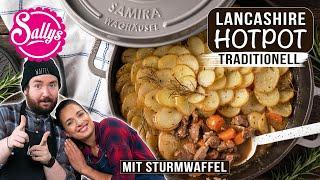 Gusseisen-Menü: Schmorgericht mit Kartoffelkruste / kochen mit Sturmwaffel / Sallys Welt
