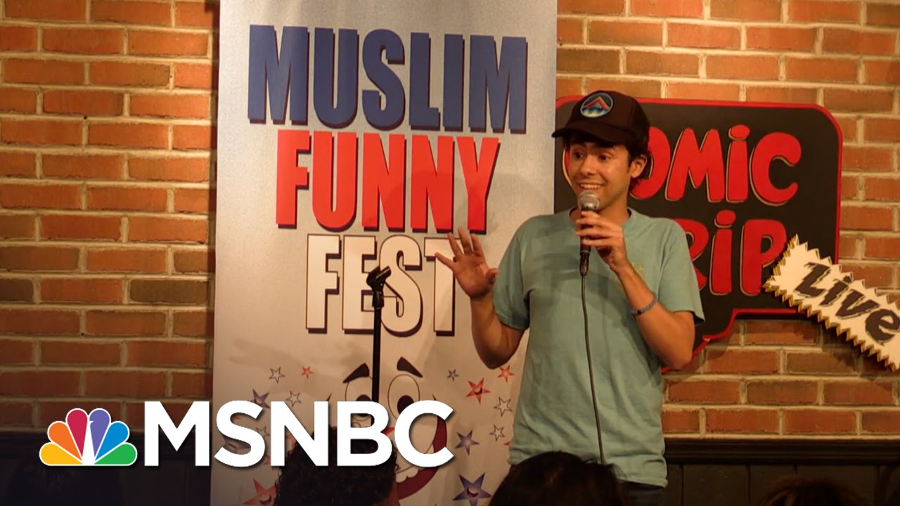 Muslim Comedians Fight Fear With Funny | MSNBC thumbnail