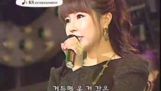 preview picture of video '미녀가수 신혜- 미녀 트로트가수[나 좀 봐요] 공연 영상 beauty singer'