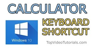 Create Keyboard Shortcut for Calculator in Windows 10