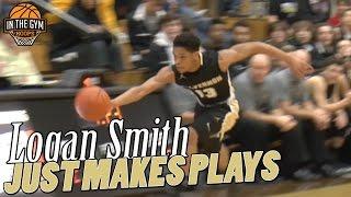 "2018 6'2"" G Logan Smith   JUST MAKES PLAYS"