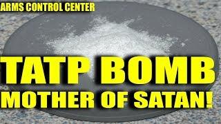 TATP Mother of Satan bomb explosion: Lethality,  Evacuation, Security