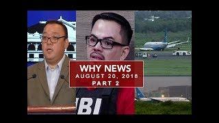 UNTV: Why News (August 20, 2018) PART 2