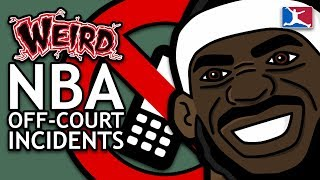 5 MORE Weird Off-Court Incidents Involving NBA Players (NEW)