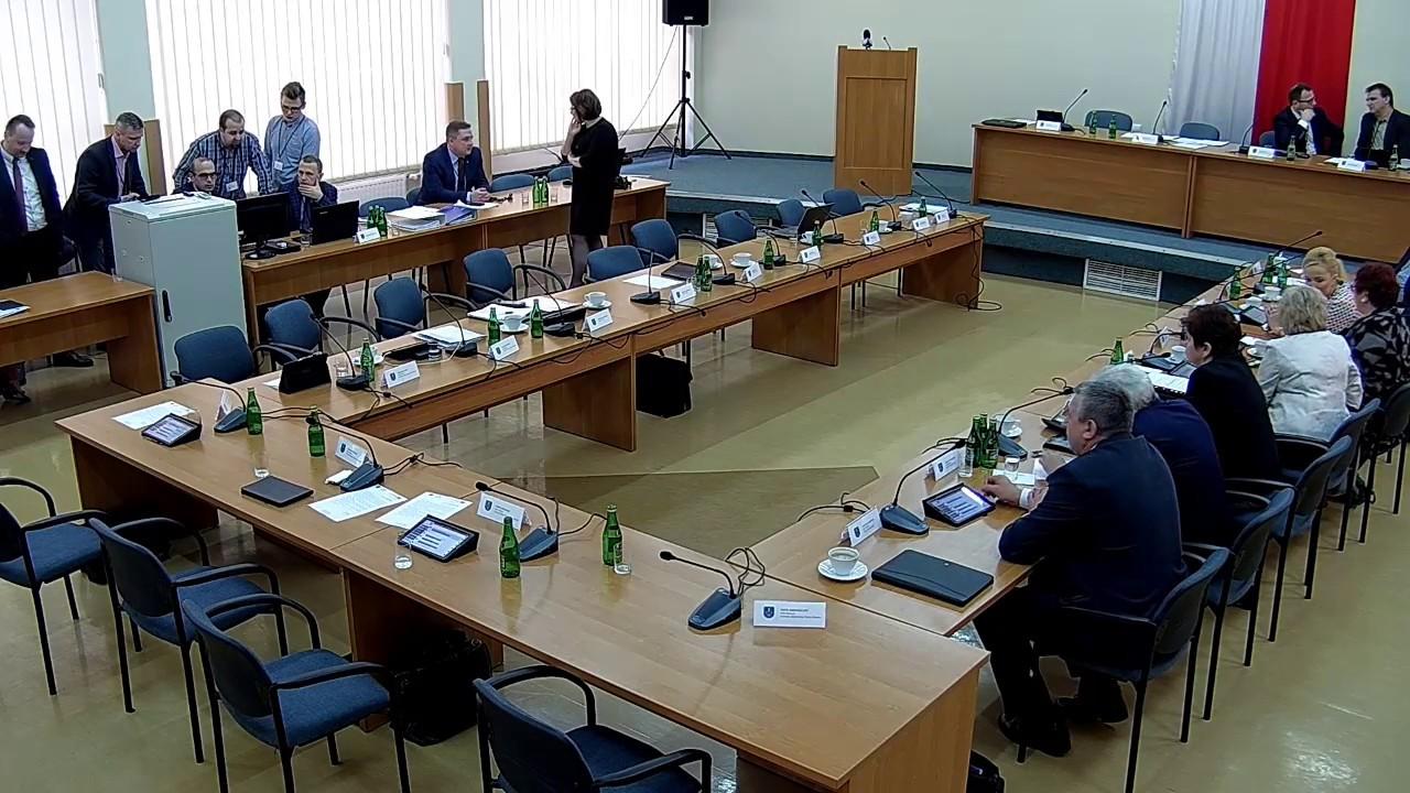 XVIII Sesja Rady Powiatu w Starachowicach 18.02.2020r. cz. II