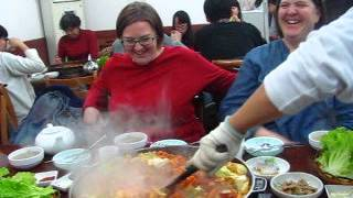 preview picture of video 'Dalk galbi in Qingdao Shandong China'