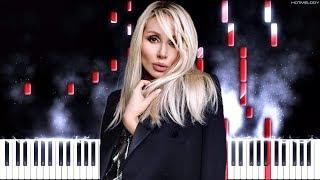 LOBODA   Мира мало   Как играть на пианино   Ремикс, Караоке