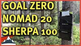 Goal Zero - Sherpa 100 and Nomad 20 Review