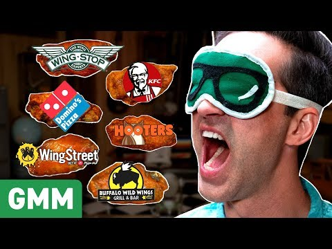 Download Blind Chicken Wing Taste Test HD Mp4 3GP Video and MP3