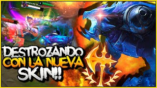 🔥ESTA SKIN DESTROZA LA PARTIDA 🔥 | REK'SAI BLACKFROST | LoL | SeVenJungle
