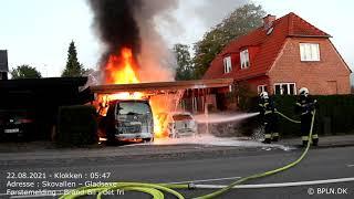 22.08.2021 / Brand-Bil i det fri / Gladsaxe