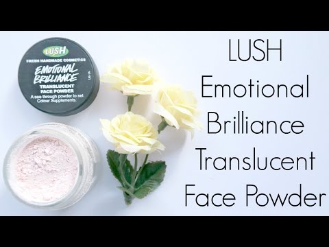 Review: LUSH Emotional Brilliance Translucent Face Powder