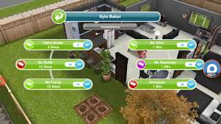 #9 the sims freeplay : visit a neighbor and be a friend