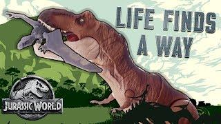 "Jurassic World Dinosaur Song: ""Life Finds a Way"" - Official Lyric Video | Mattel Action!"