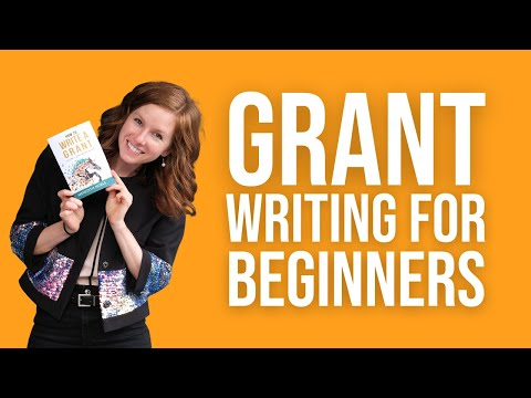 Grant Writing for Beginners