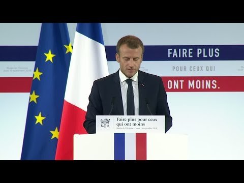 Emmanuel Macron on poverty: