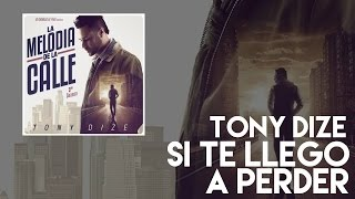 Tony Dize - Si Te Llego A Perder [Official Audio]