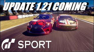 GT Sport Update 1.21 Coming Possible New Features