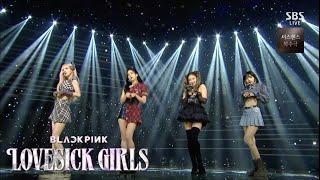 BLACKPINK - 'Lovesick Girls' 1025 SBS Inkigayo : NO.1 OF THE WEEK