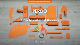 Installing Pergo vinyl flooring - How to cut vinyl flooring?