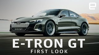 Audi E-Tron GT First Look: Fast and beautiful